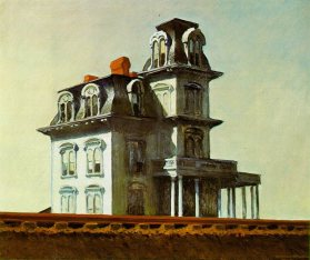 House by the railroad - Edward Hopper