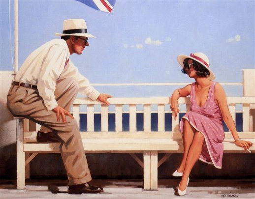 © Jack Vettriano - Everything With a Twist
